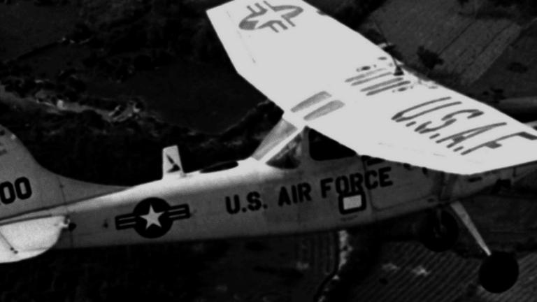 U.S. Pilot Michael Cavanaugh Flew In a Secret Air Force