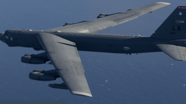 Jamming Enemy Fire And Protecting B-52's During Combat
