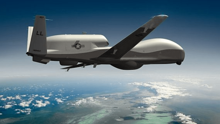 Large Drones Find New Tactics to Avoid Being Shot Down