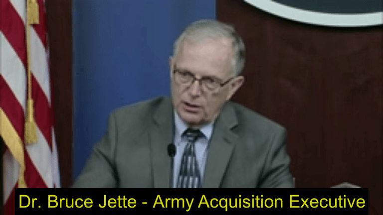 """Video Report: Army Acquisition Executive Details Future """"War Network"""""""