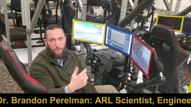 Video Report: Army Research Lab Develops AI-Enabled Robot Tanks