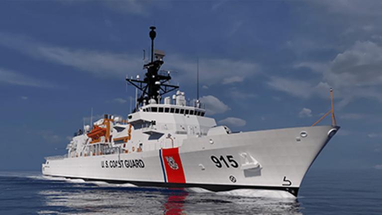 New 360-Foot Coast Guard Off Shore Patrol Cutter To Set Sail Next Year