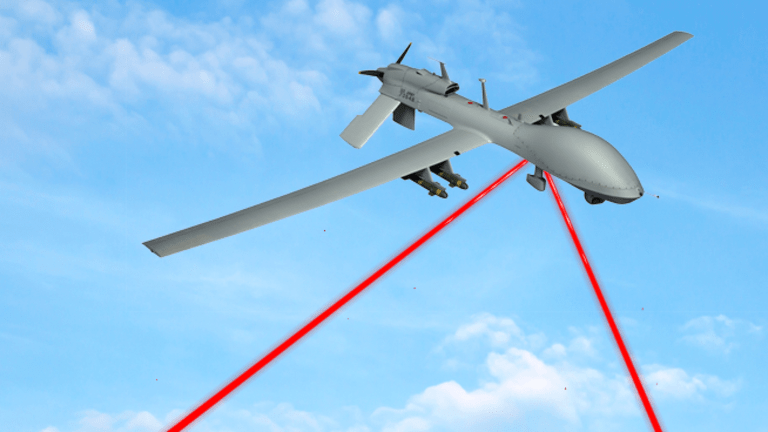 Laser Weapons Are Here .. What About Laser Communications Sending Drone Video?