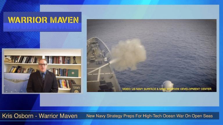 Video: New Navy Weapons Tactics Sharpen Prep for Major Warfare