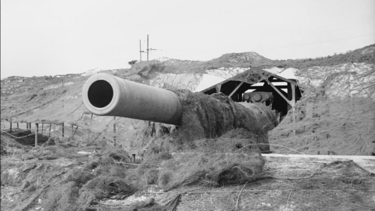 Big Guns Named 'Winnie' & 'Pooh' Dueled Nazi Cannons Across the English Channel