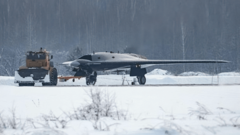 Russia Has a New Drone That Looks Like a B-2 Stealth Bomber