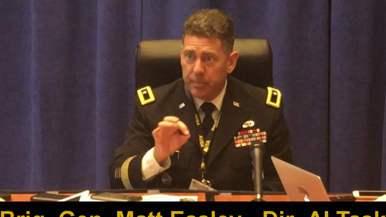 Video: Army AI Task Force Speeds Attacks - Soldier Decisions