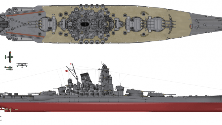 What if Nazi Germany's Most Lethal Battleship Took on Imperial Japan's Yamato?