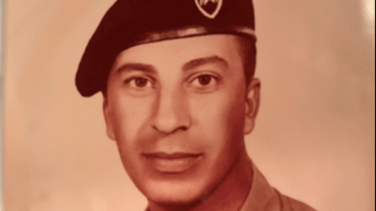 Military Son Honors Deceased Military Father on Memorial Day