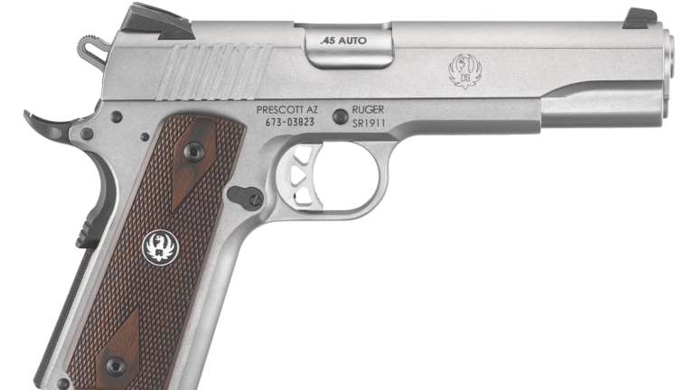 This Ruger Handgun is One Tough Customer