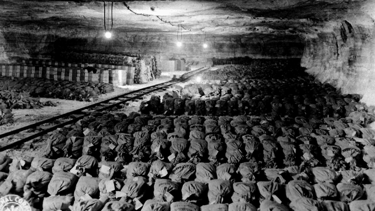 US Troops Once Found 200 Tons of Stolen Nazi Gold
