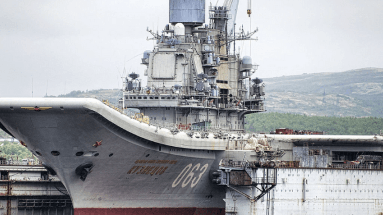 Dry-Dock Sinking Could Accelerate the Russian Navy's Decline