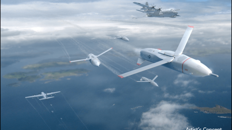 Air Force Mini-Drone Swarms Could be Operated by a B-21 or F-35