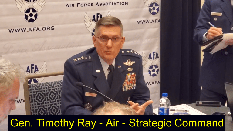 Video: Air Force Cites Plan for Air-Launched Hypersonic Attack