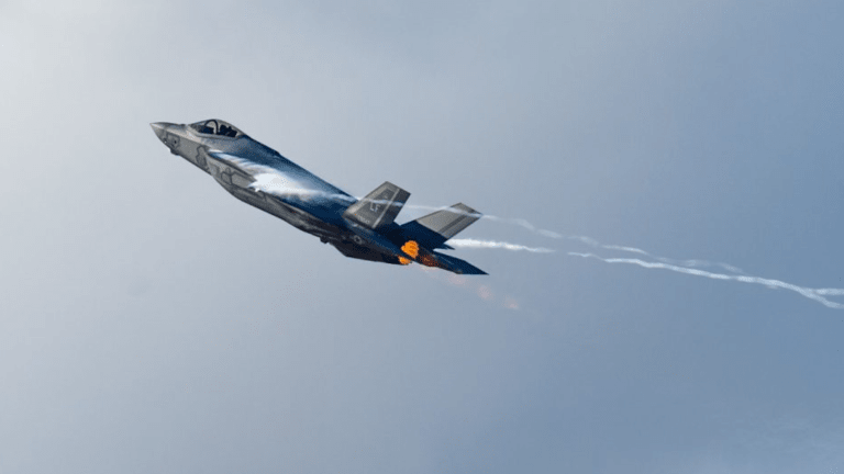 F-22 and F-35 Take Off With New Air Force Autonomous Drone