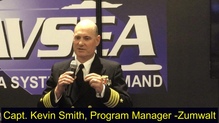 Watch VIDEO: Navy Capt. Talks Laser Weapons for Stealthy Destroyer- USS Zumwalt