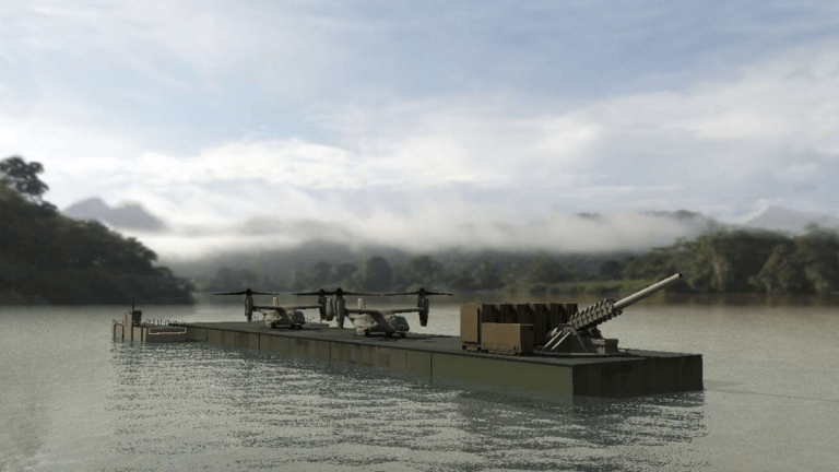 Marine Corps Barges: Armed With F-35 & Rail Guns