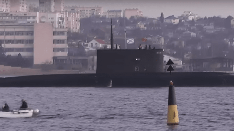 This is the First Russian Sub To Fire in Anger Since World War II