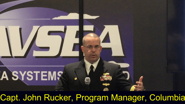 Navy Capt. Video: New Columbia Sub Will Shoot Off Nuclear Missile