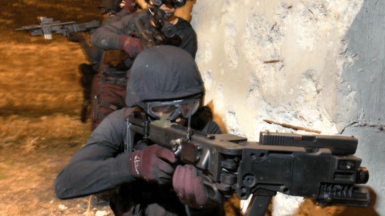 How to Fire a Gun 'Around the Corner'