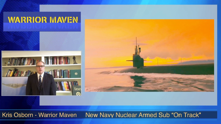 Video Analysis: Navy Charts Future Course for Nuclear Armed Columbia-Class Subs