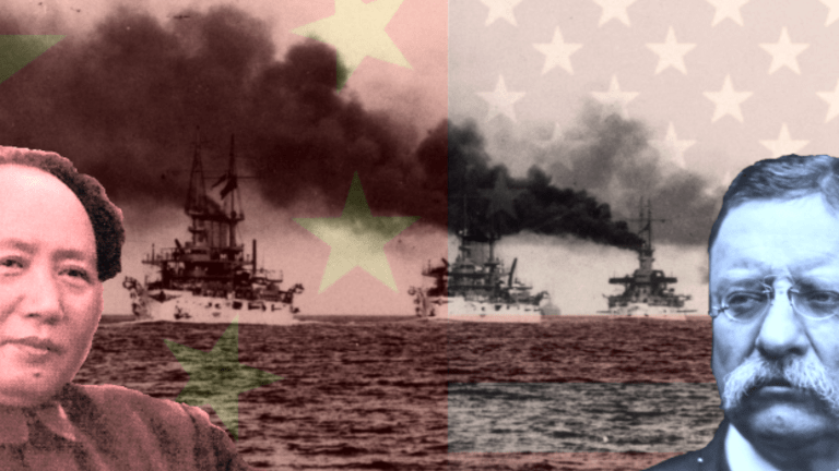 What Teddy Roosevelt Taught Mao About Naval Power