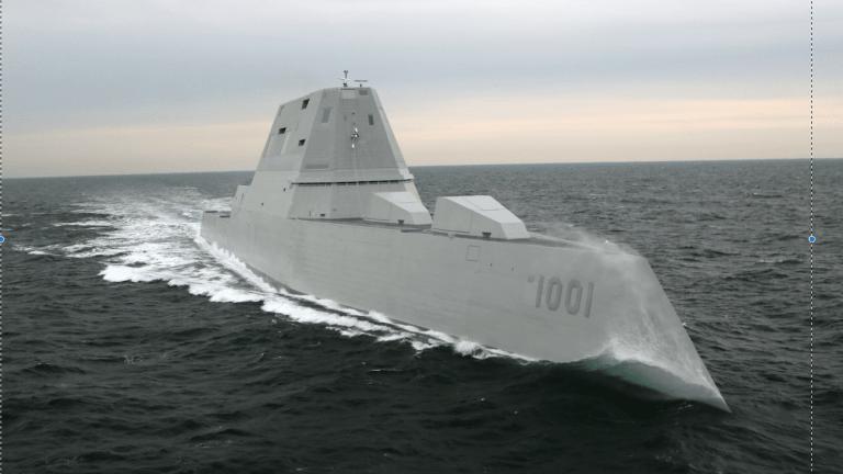 2nd Navy Zumwalt-Class Stealth Destroyer Delivered