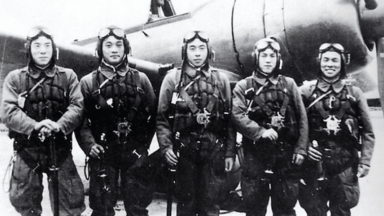 Watch rare footage of a Kamikaze attack caught on film