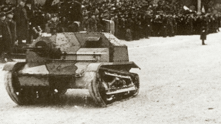 How a Lone Polish Cadet Rampaged Through German Panzers