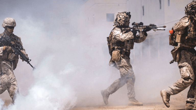 New Marine Corps Philosophy Combines Classic Maneuver Warfare With AI