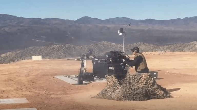 Warrior Maven Fires a 30mm Cannon that Arms Stryker