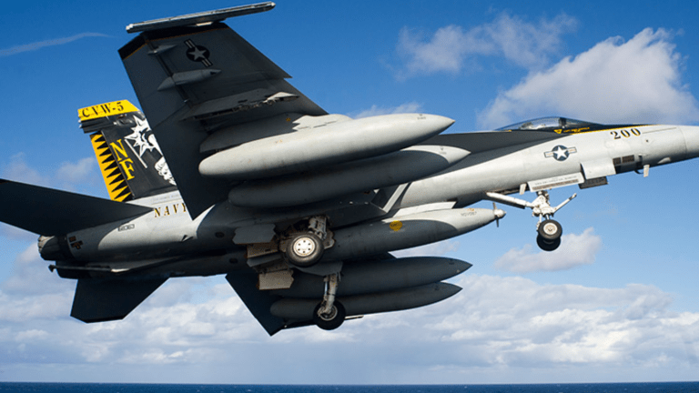 Stealthy F-35s Signal End-of-Days for F/A-18s