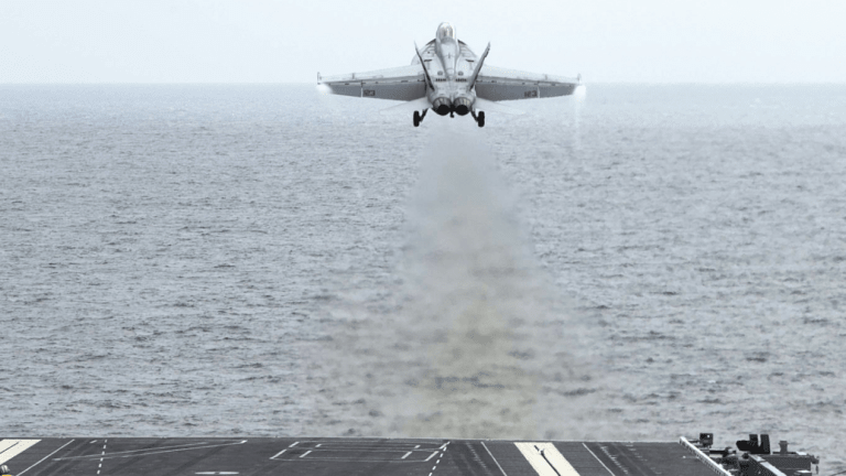 Electromagnetic Aircraft Carrier Fighter Jet Launcher Reshapes Maritime Attack