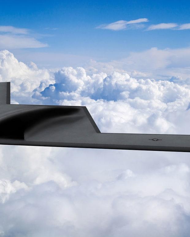 B-21-Raider-in-the-clouds
