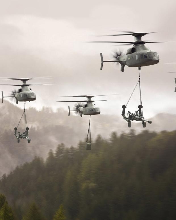 SIKORSKY BOEING DEFIANT X 2021 FLRAA.Lift.Formation.01.wide.4K