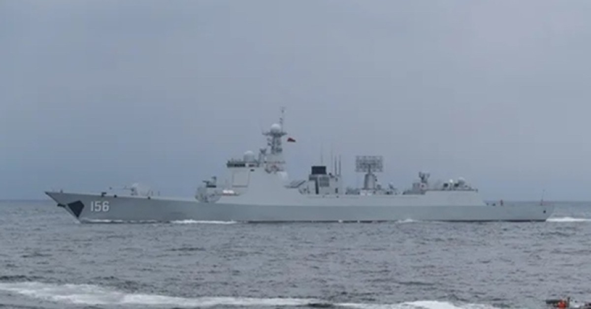 Chinese 052D Destroyer
