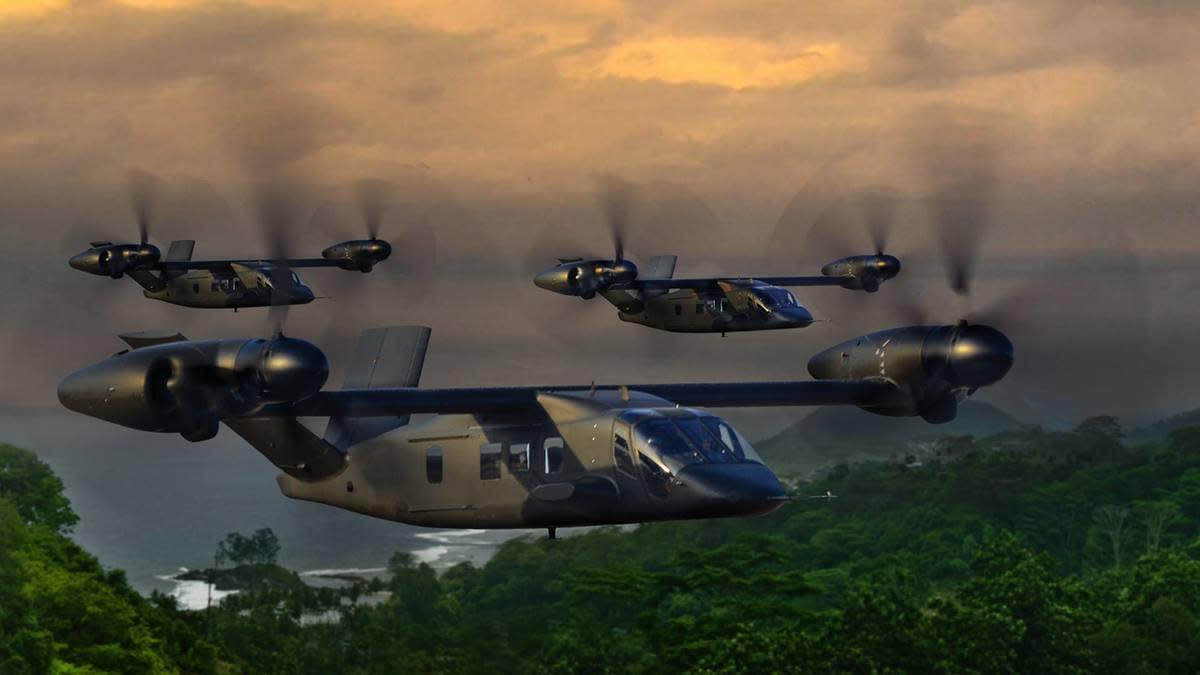 Bell-v-280 Future Long Range Assault Aircraft (FLRAA)