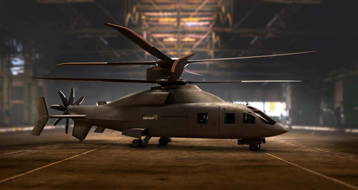 Defiant X Future Long Range Assault Aircraft (FLRAA)