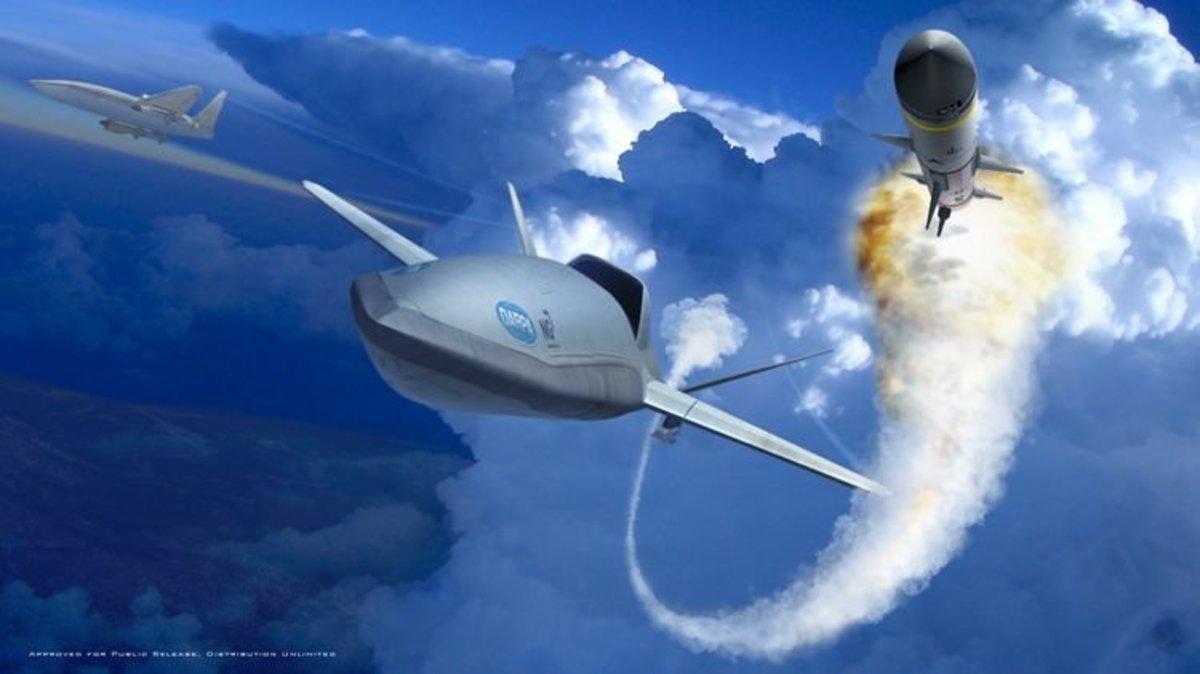 DARPA's LongShot Drone