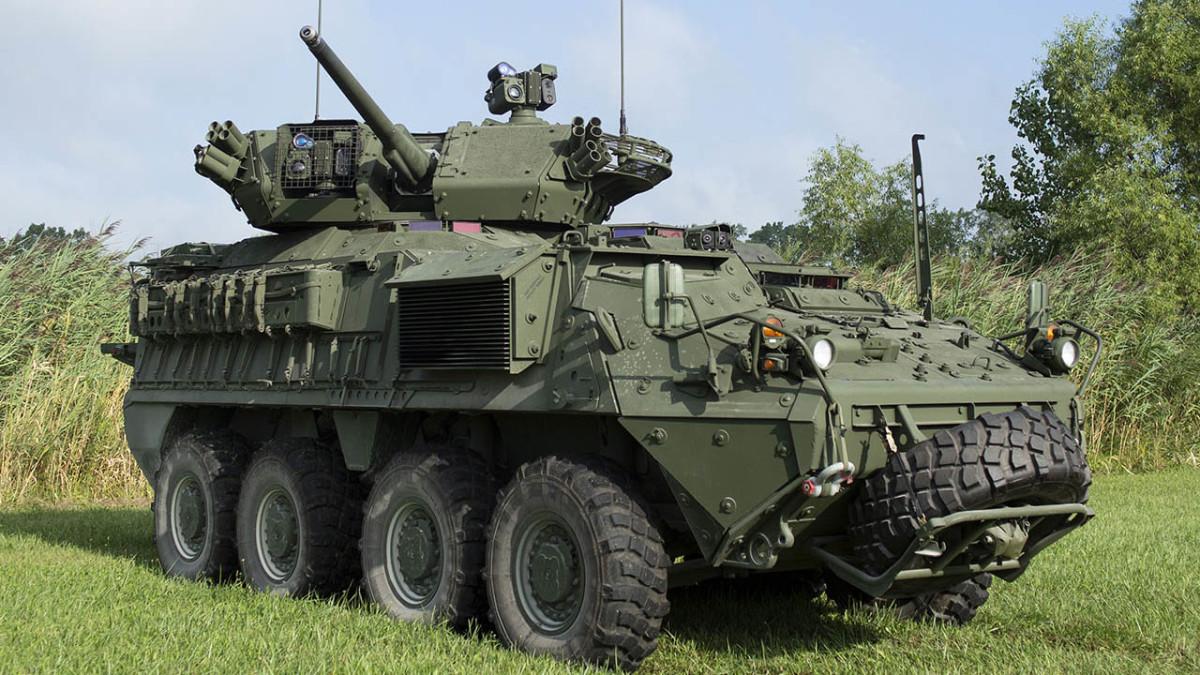 General Dynamics Stryker A1