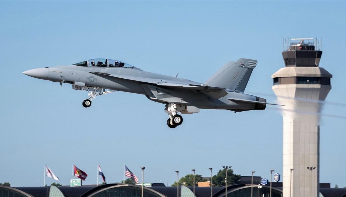 Block III F/A-18 Super Hornet