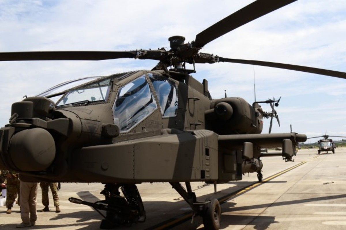 The massively upgraded Apache AH-64E