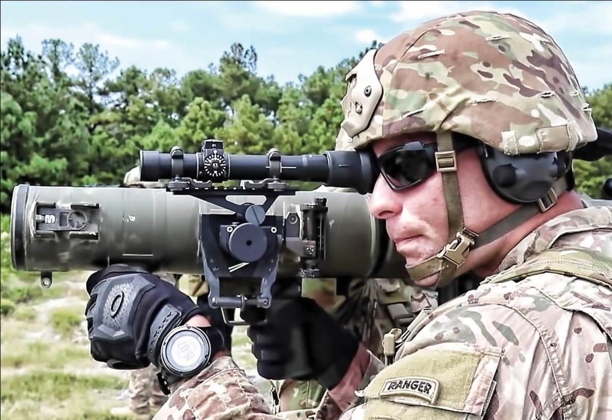The M3E1 Multi-purpose Anti-armor Anti-personnel Weapon System (MAAWS)