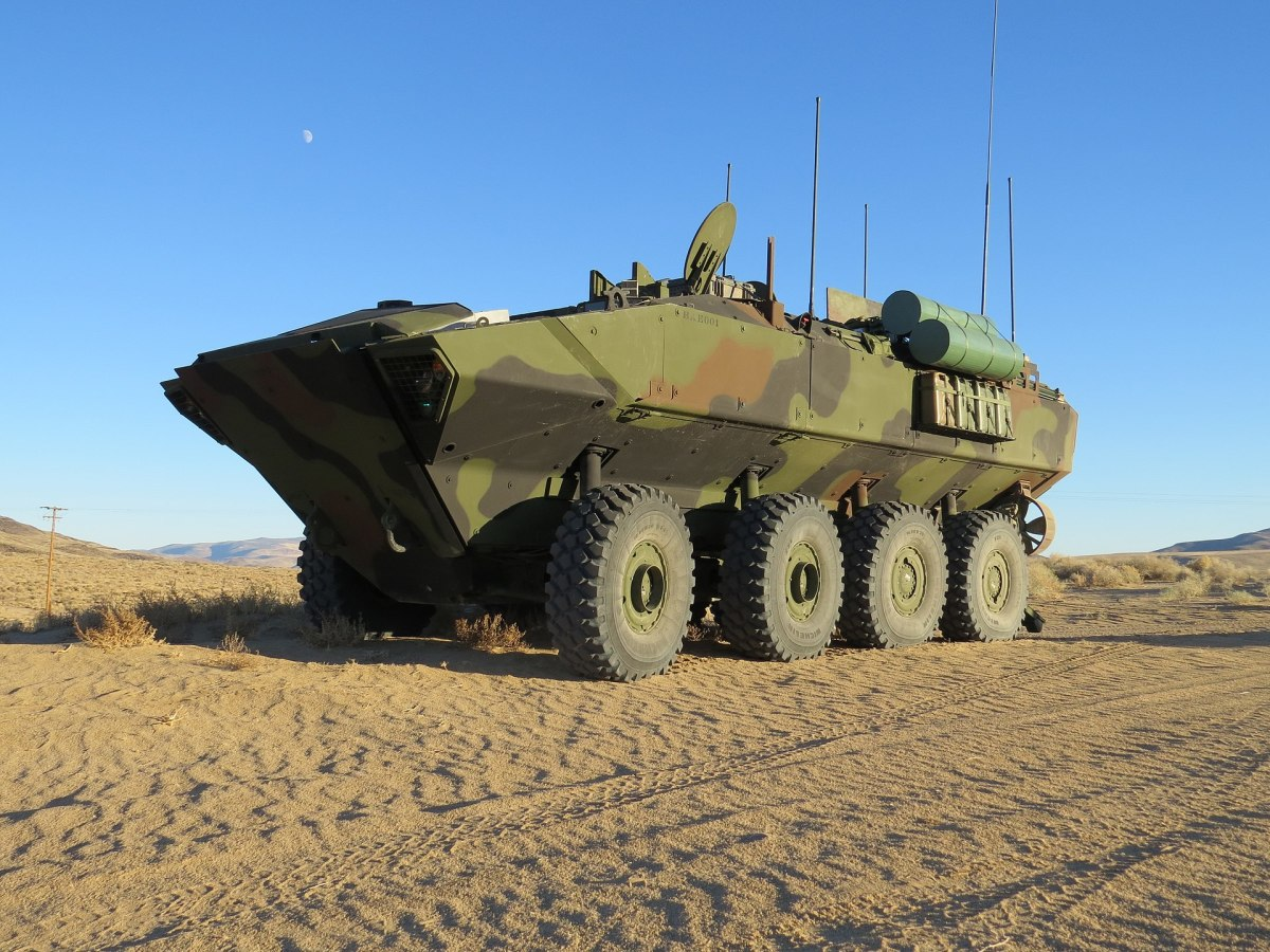 Marines Purchase 20 New Amphibious Combat Vehicles