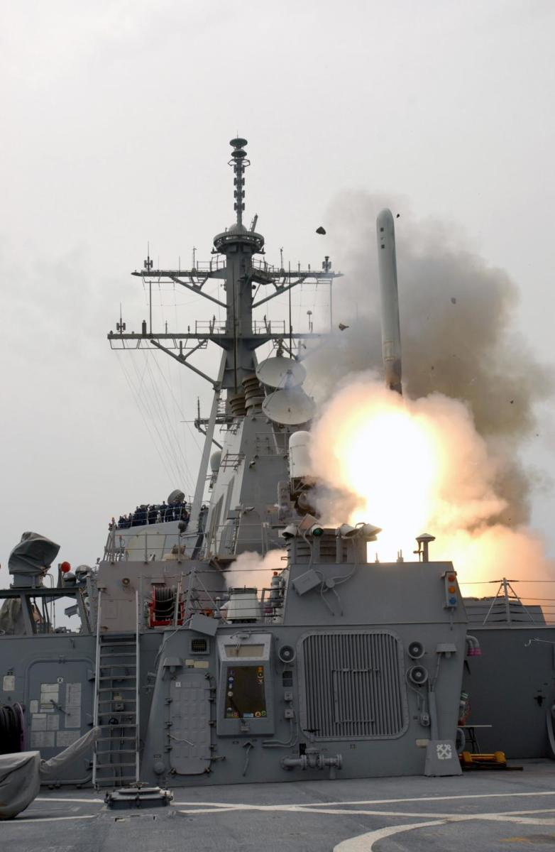 Tomahawk Cruise Missile Launches