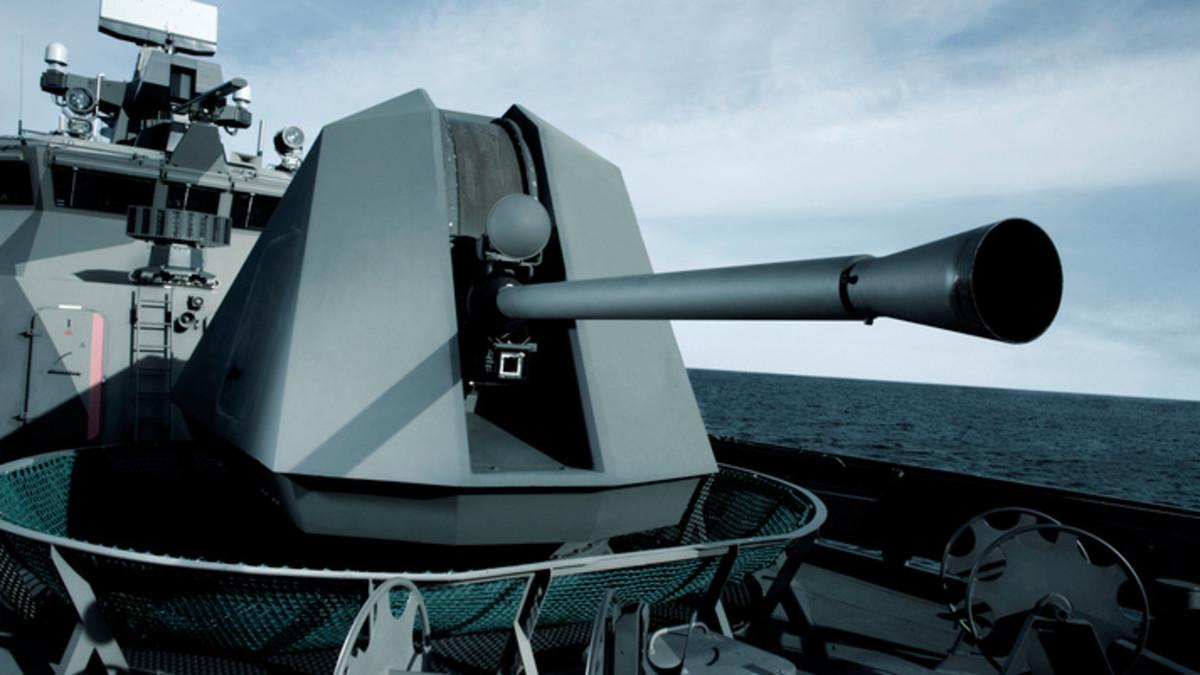 57mm Mk110 Gun Weapon System for U.S. Navy