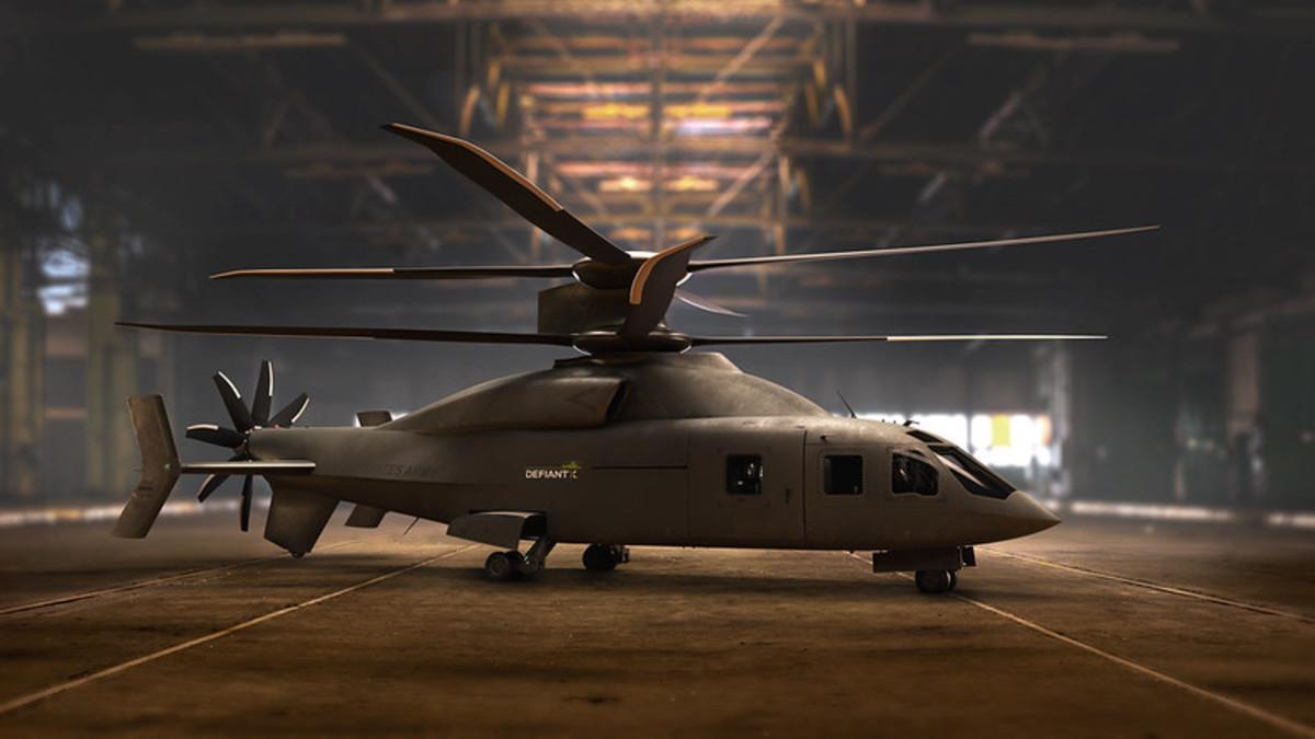 Lockheed Sikorsky-Boeing's DEFIANT X