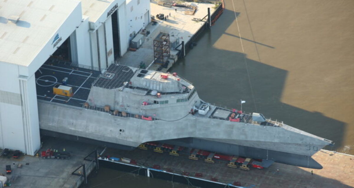 Austal's 30th Littoral Combat Ship