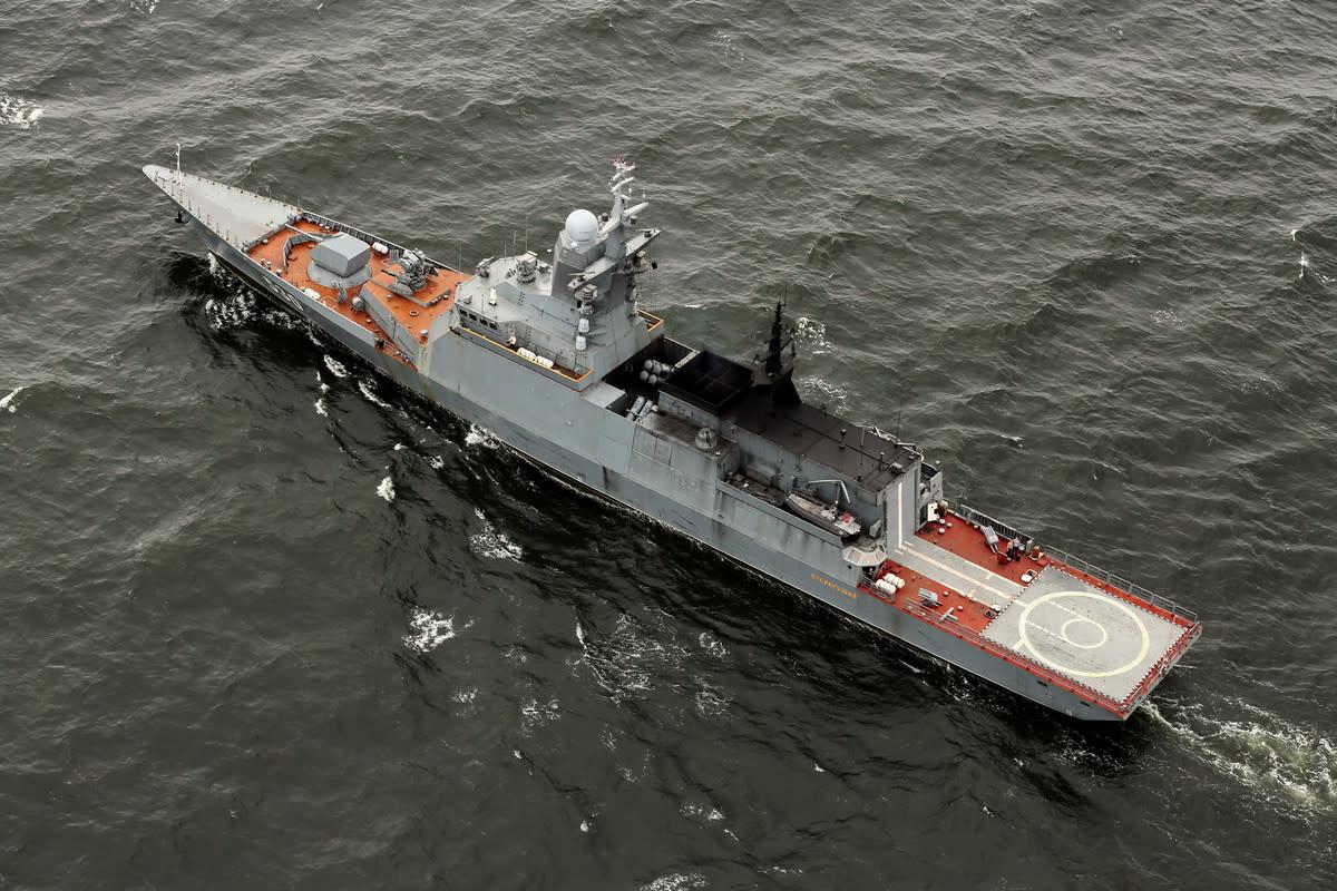 Russian Navy's Corvette Steregushchiy