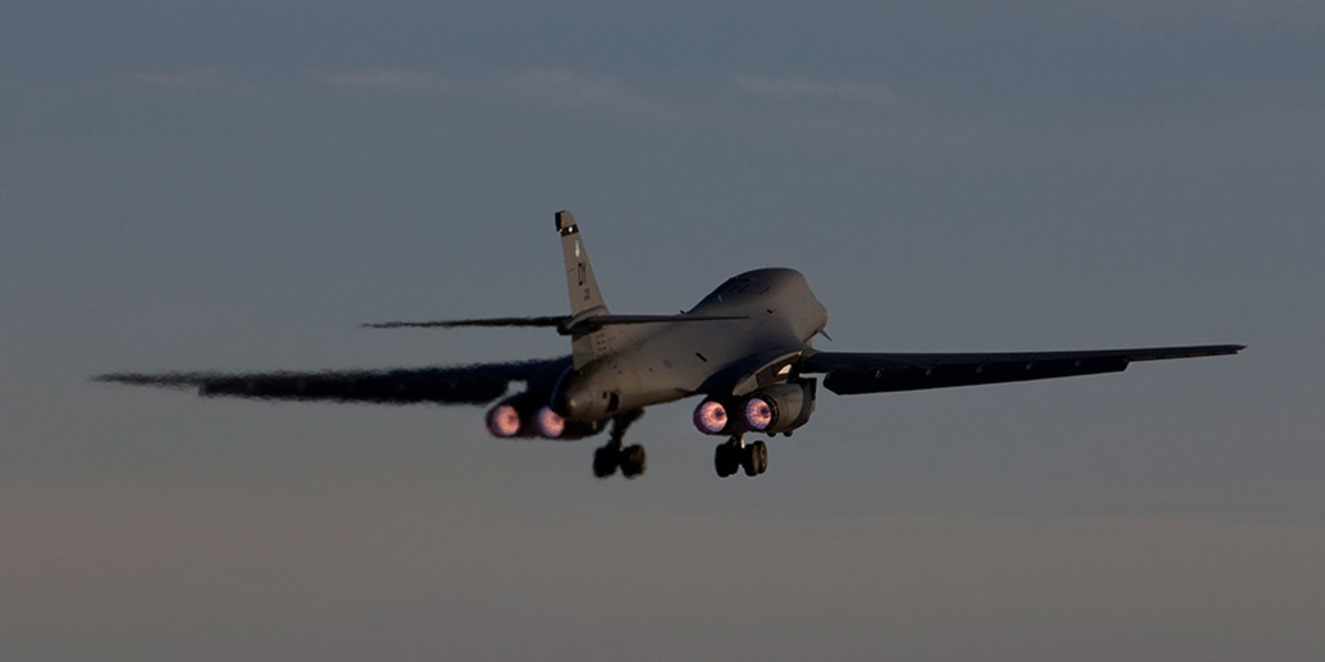 U.S. Navy B-1B Lancer
